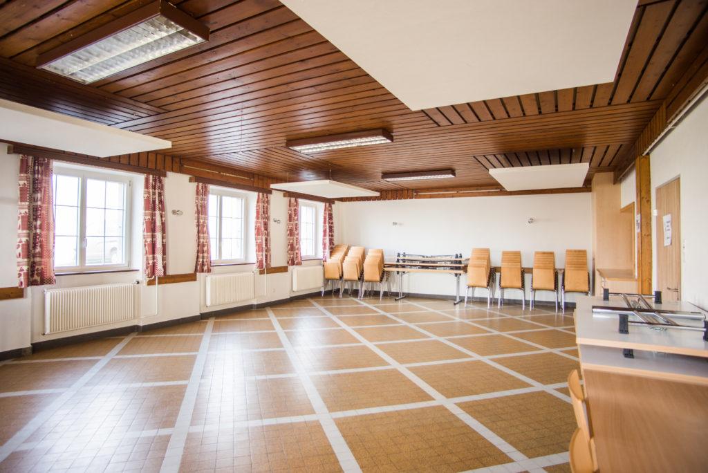 Salle réception chalet Retemberg Vicques Jura