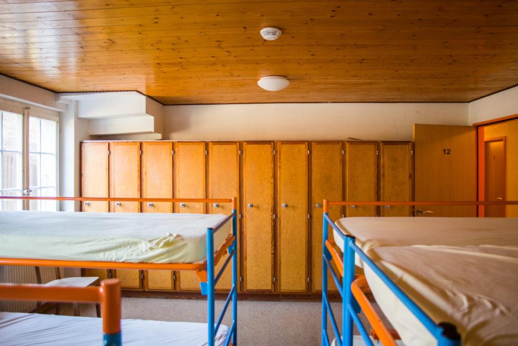 Dortoir chambres chalet Retemberg Vicques Jura